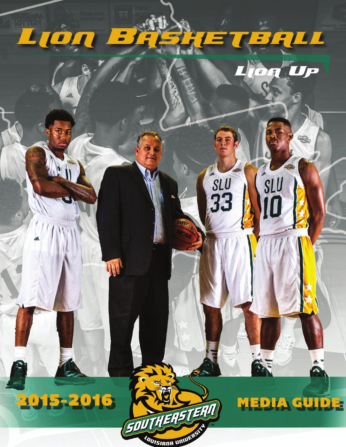 pretty nice 3a2bf f85a5 Southeastern Louisiana Men's Basketball Media Guide by ...