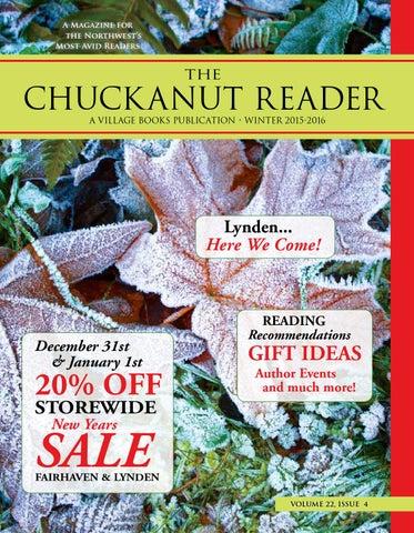 b3c5397dcf0 Chuckanut Reader - Winter 2015 2016 by Village Books   Paper Dreams ...