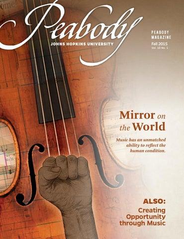Peabody Magazine Fall 2015