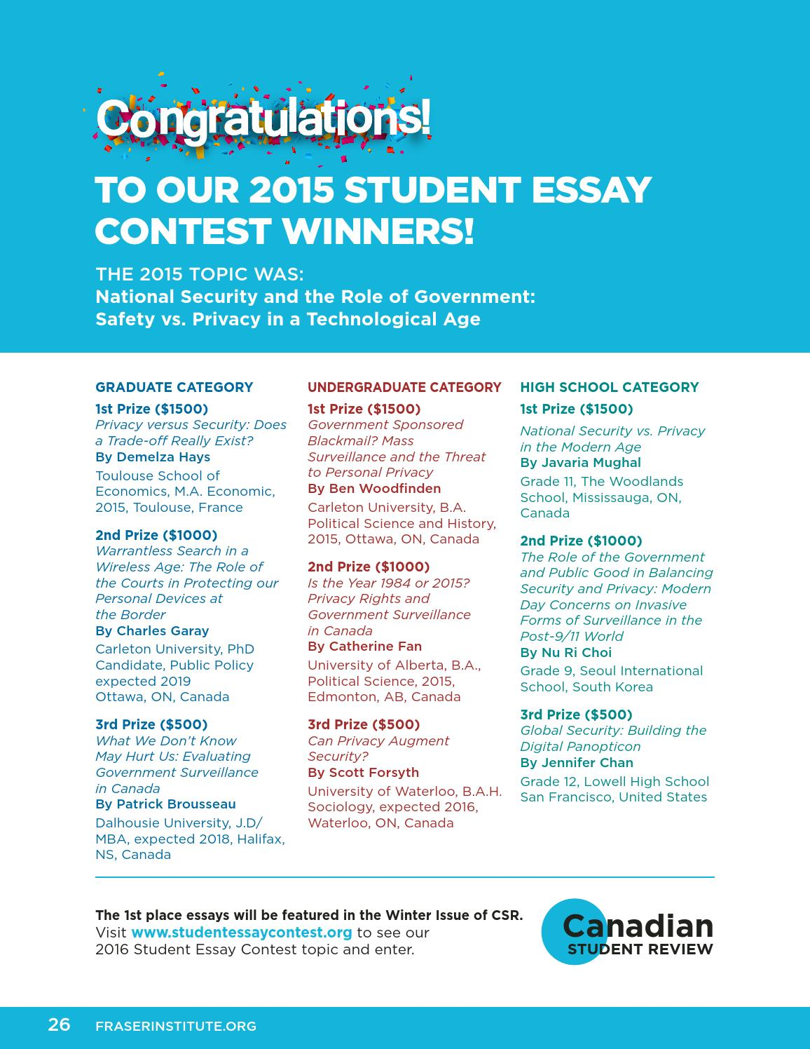 charles hefling student essay competition A student essay competition the winner of the charles hefling student essay competition receives a prize of seven hundred and fifty dollars charles hefling,.