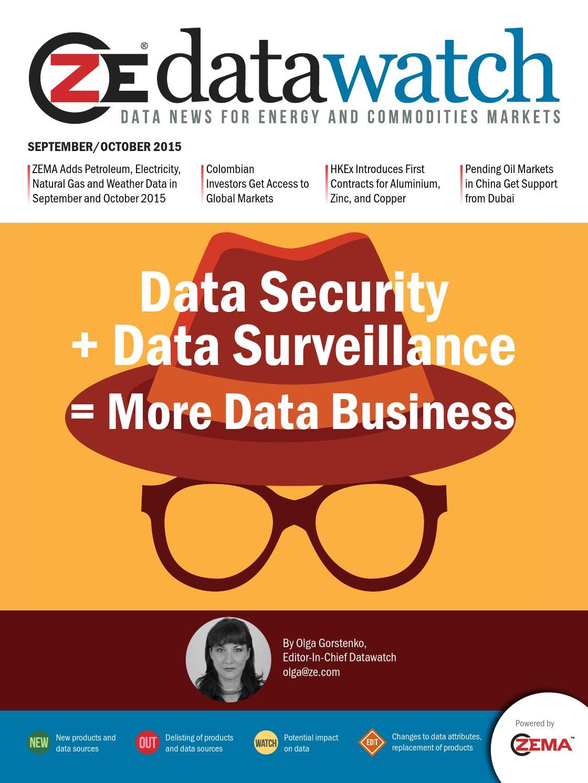 Data Security + Data Surveillance = More Data Business by ZE