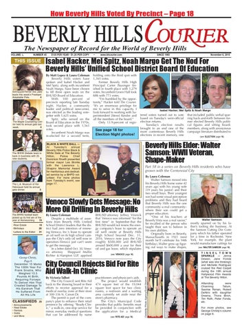 BHCourier 110615 E-edition by The Beverly Hills Courier - issuu