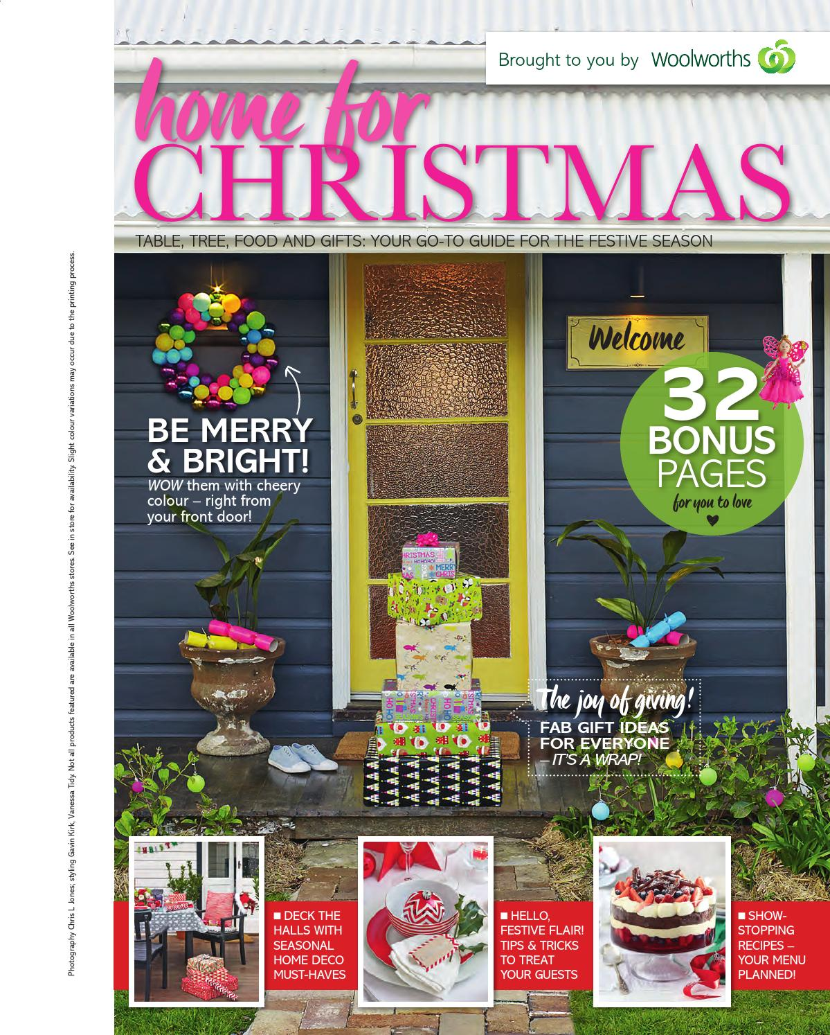 Woolworths Home for Christmas 2015 by Pacific Magazines ...