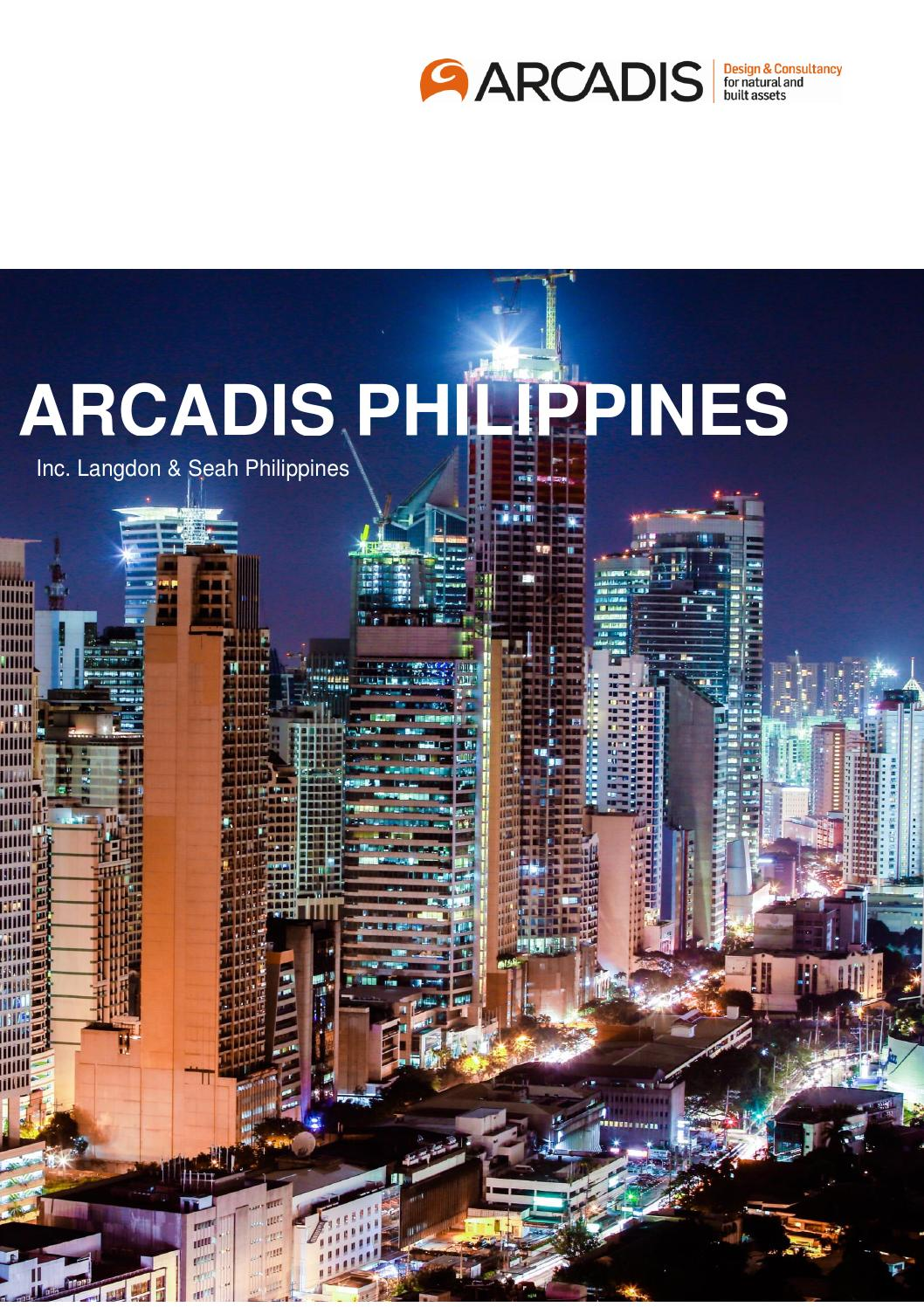 Arcadis philippines brochure e booklet by arcadis issuu for Arcadis consulting