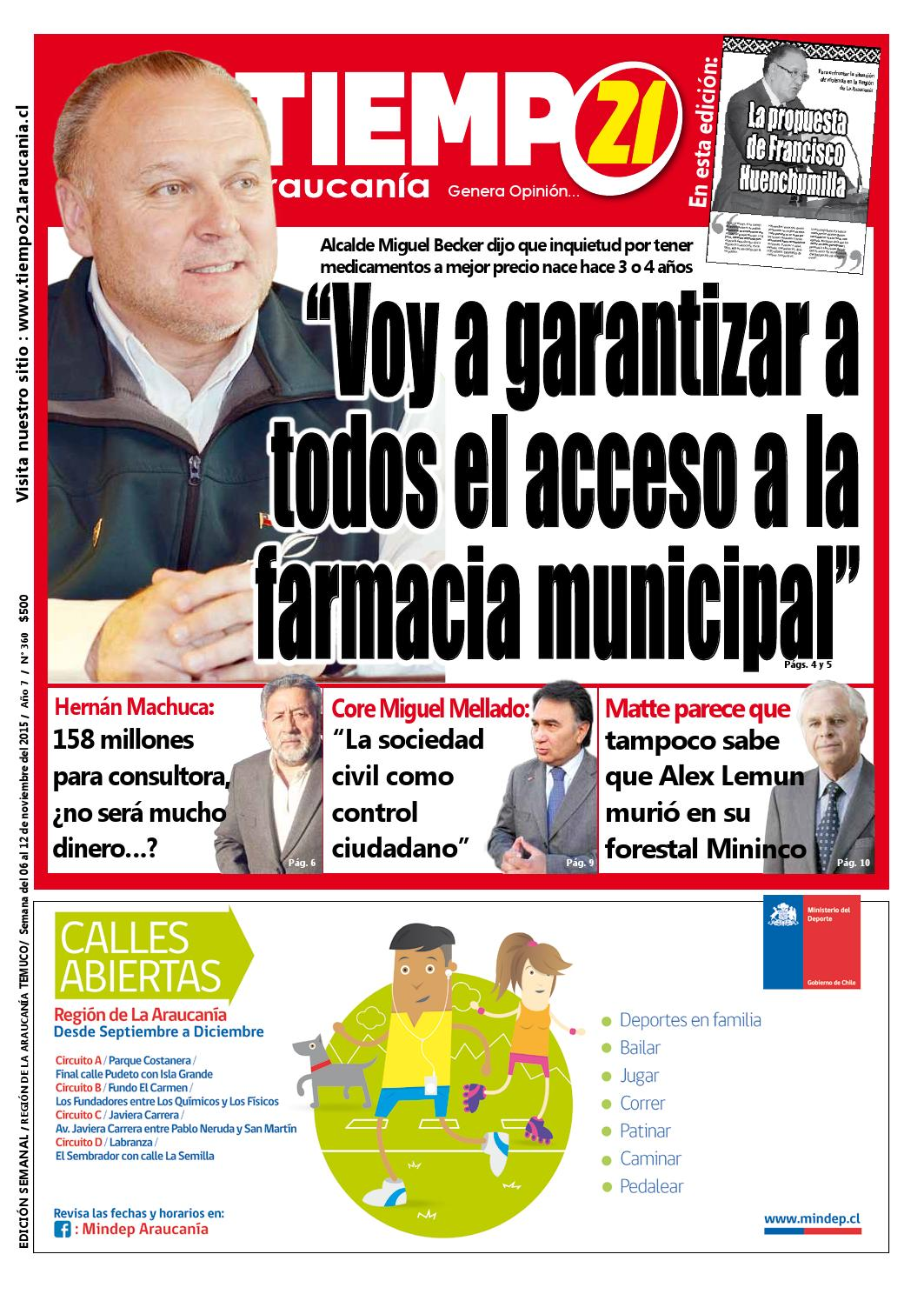 Muebles Mehuin Rancagua - Edici N 360 Alcalde Miguel Becker Voy A Garantizar A Todos El [mjhdah]http://www.masisa.com/chi/wp-content/files_mf/1431703860FOTOSGUIAELMUEBLISTA2015.jpg