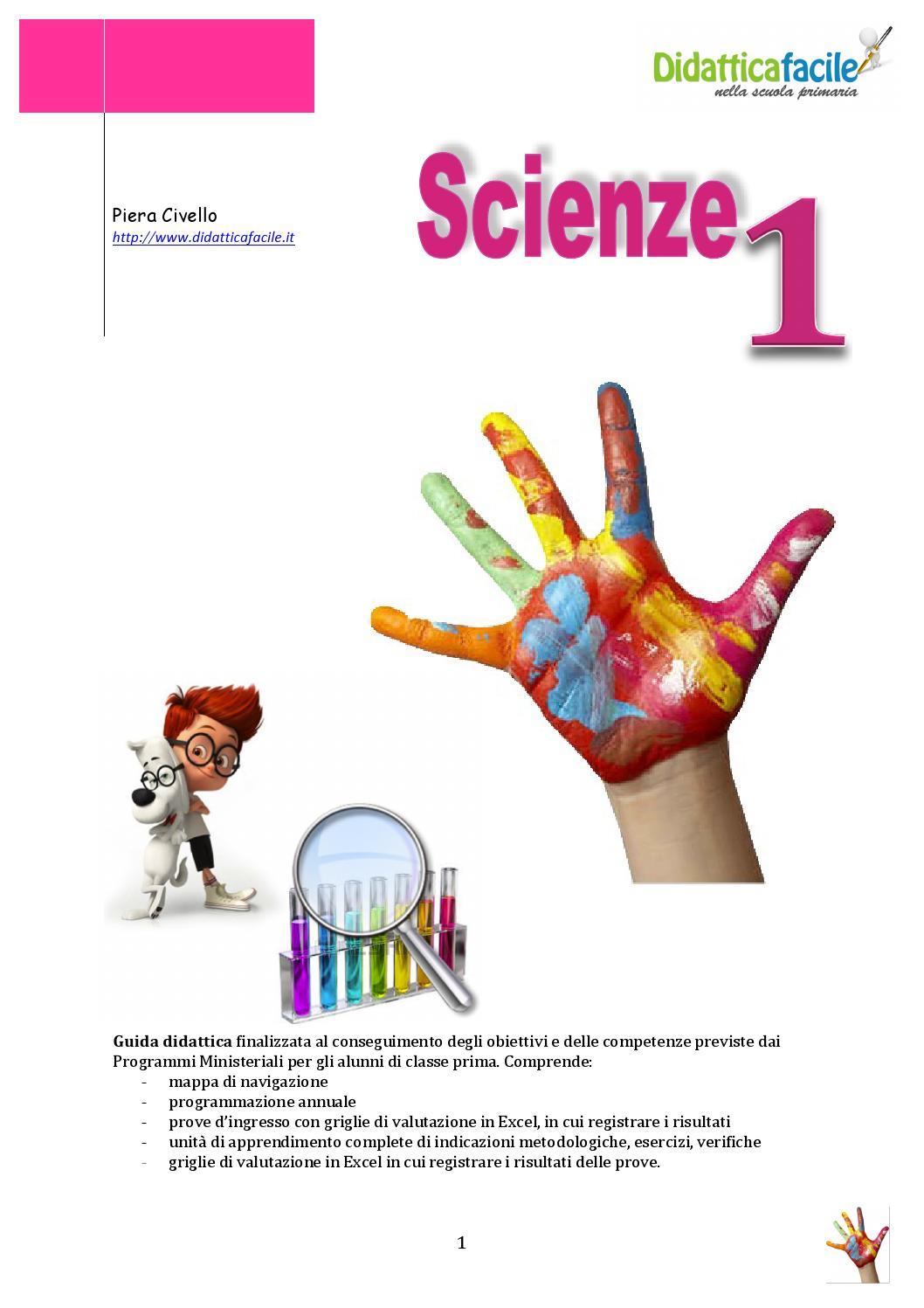 Popolare Scienze classe 1 by piera civello - issuu UD15