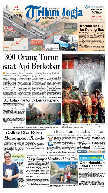 Tribunjogja 02 11 2015 By Tribun Jogja Issuu Produk Ukm Bumn Kain Batik Middle Premium Sutera