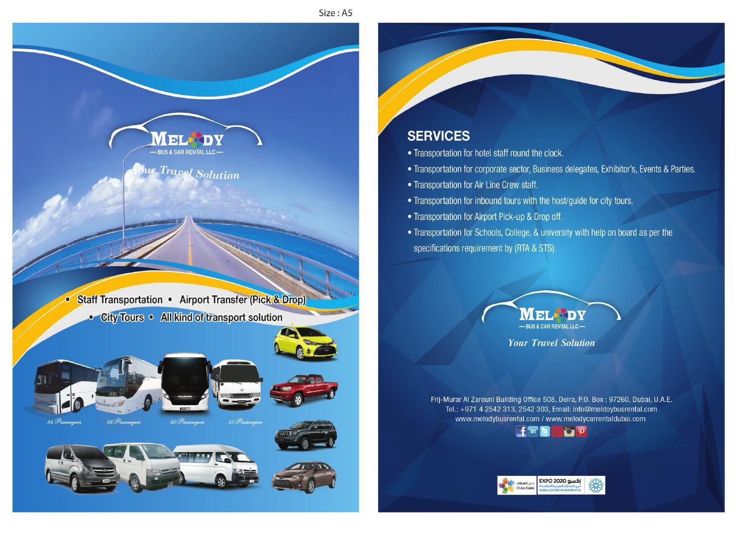 melody bus and car rental llc by rias khan   issuu