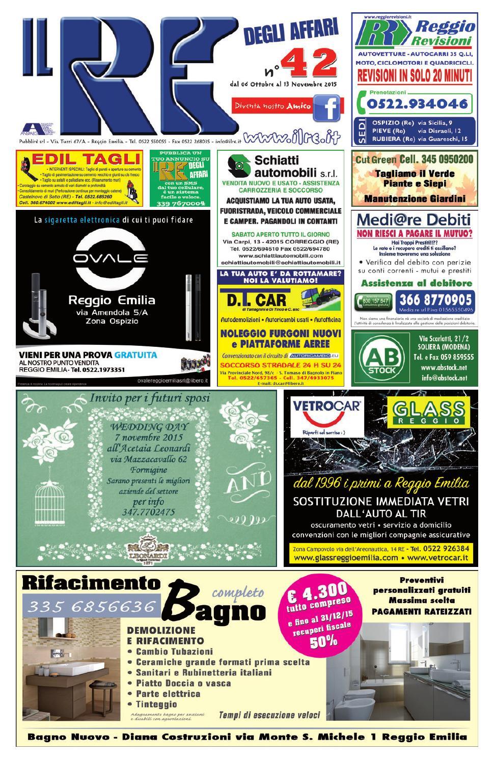 reputable site 4da23 bdaf0 IL RE DEGLI AFFARI NR. 42 2015 by Il Re degli Affari - issuu