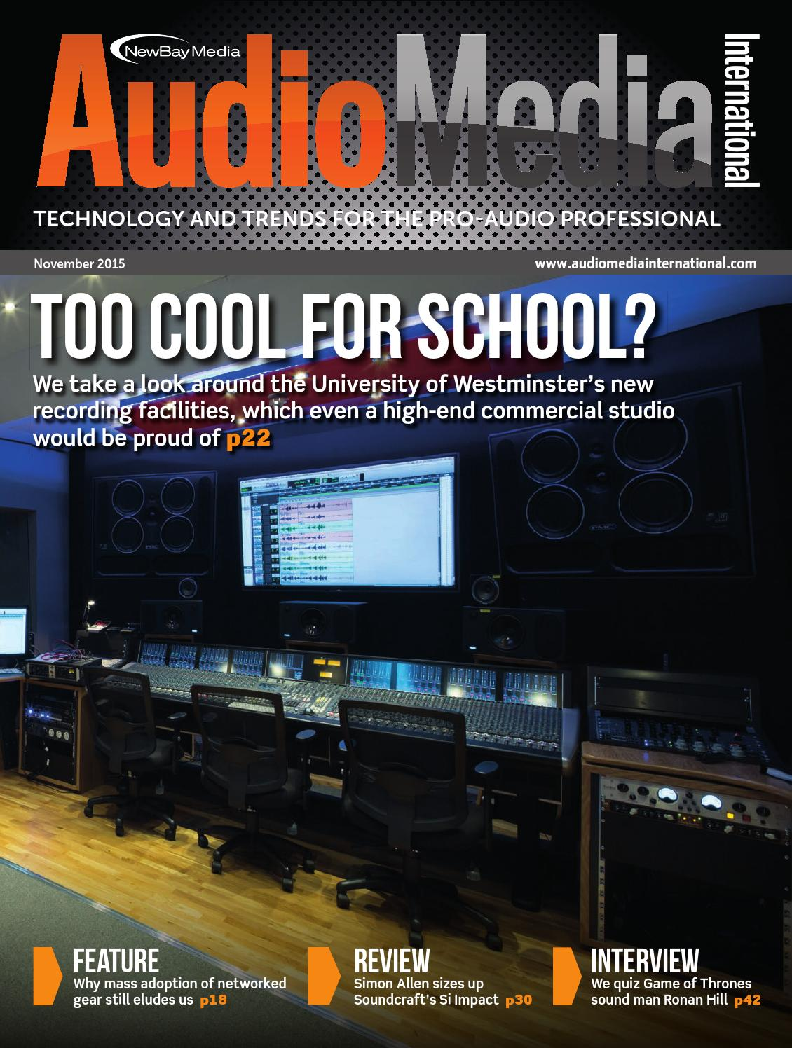 Ami November 2015 Digital Edition By Future Plc Issuu Simple Easy Parametric Amp Graphic Eqs Plus Peaks Notches