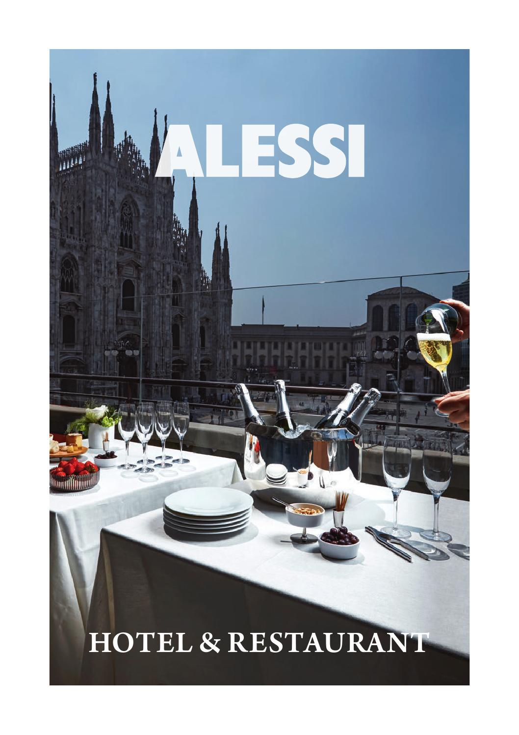 Alessi hotel restaurant by alessi s p a issuu for Alessi catalogo