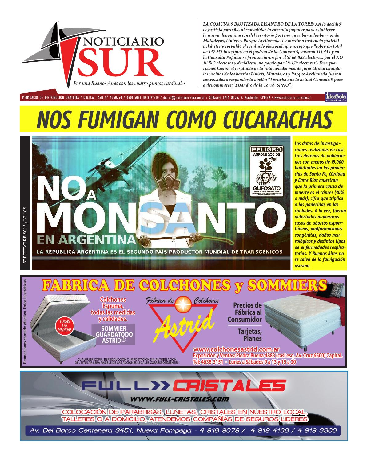 67902fba1 Noticiario Sur N° 162, Octubre by Víctor José Del Vento - issuu