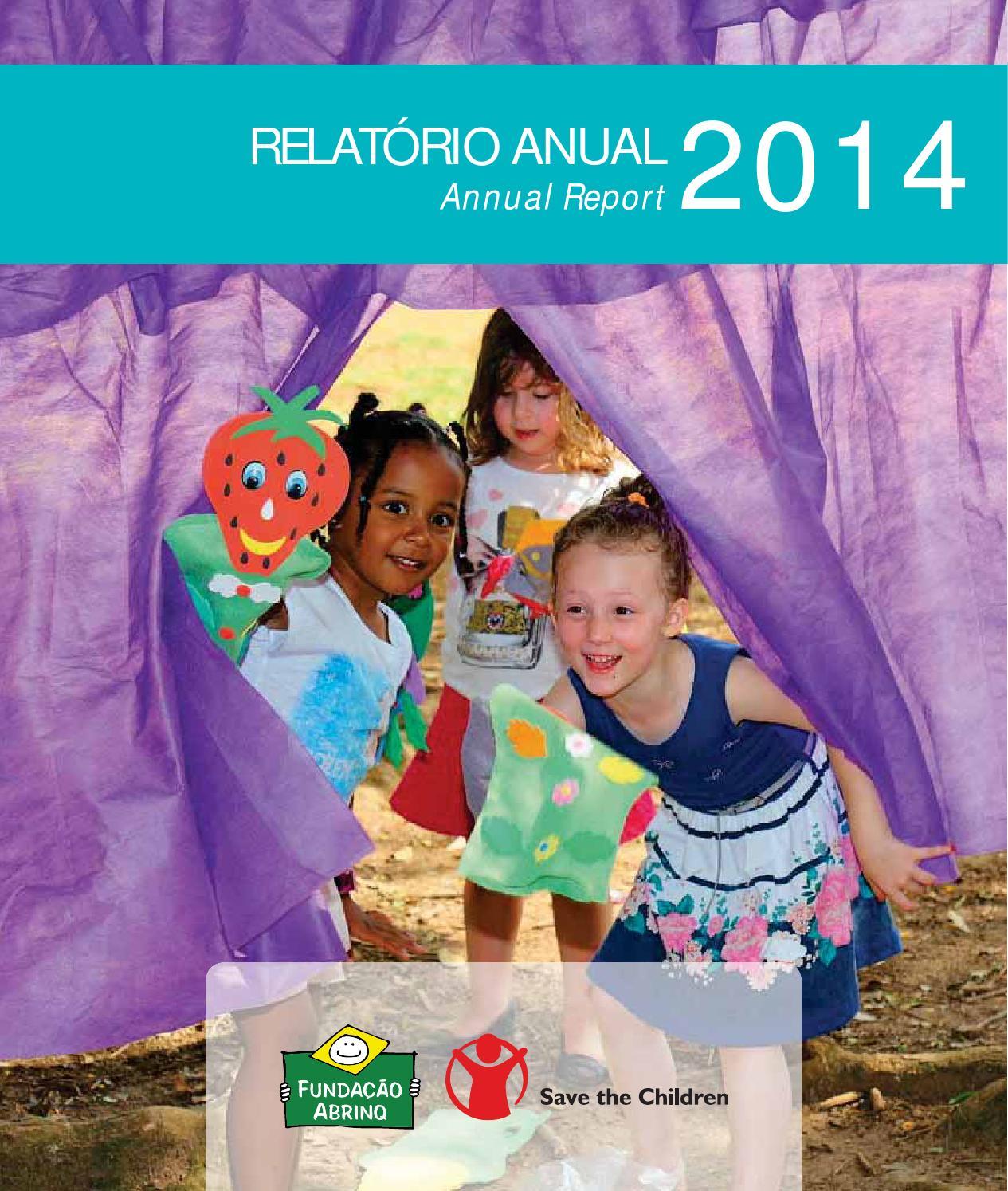 Relatorio Anual 2014 - Fundação Abrinq by Fundação Abrinq - issuu 09eb0d30ed