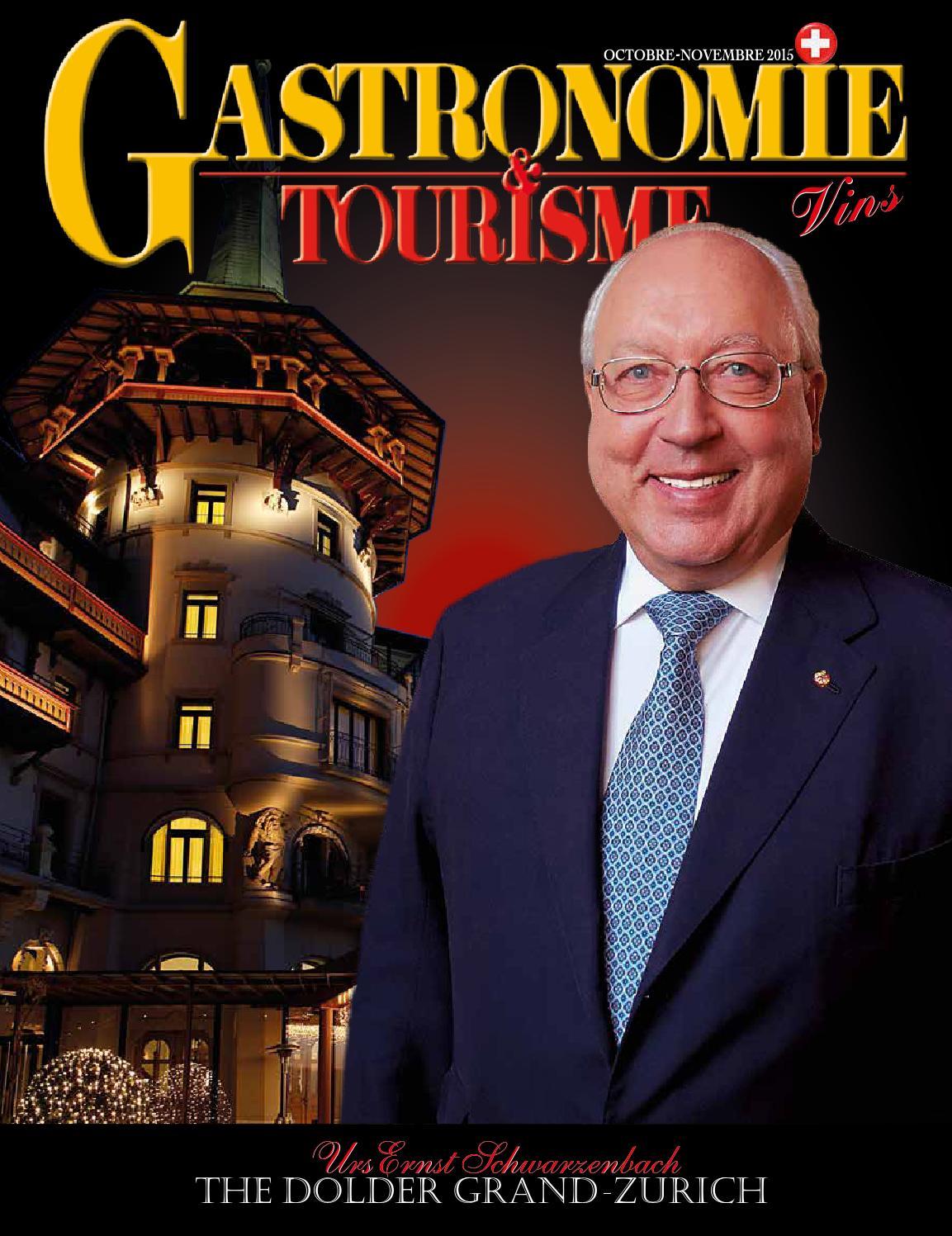 Gastronomie Et Tourisme Octobre Novembre 2015 By Alberto Dell Acqua Issuu