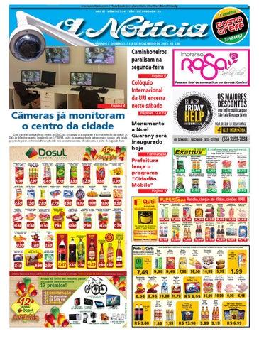 Edição de 7 e 8 de novembro de 2015 by Jornal A Notícia - issuu e89f7a2cc1