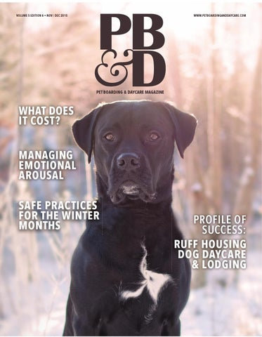 Pet Boarding and Daycare November December 2015 by Barkleigh