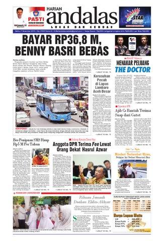 Epaper andalas edisi sabtu 07 november 2015 by media andalas - issuu 0851a5a489