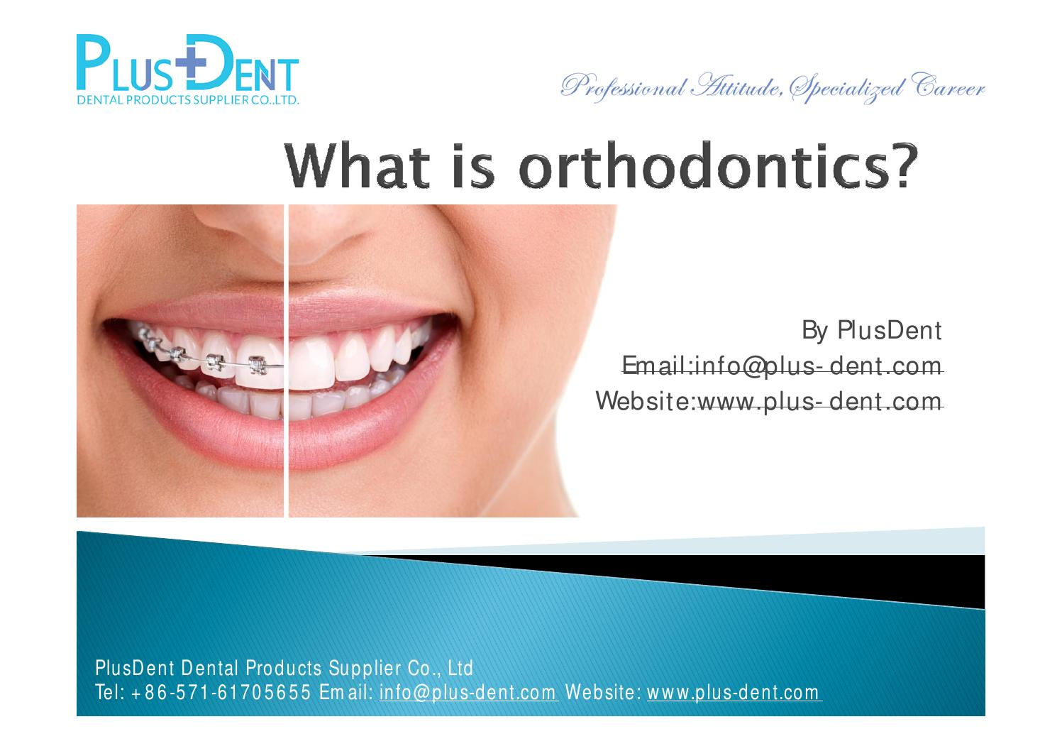 what does the word orthodontist mean