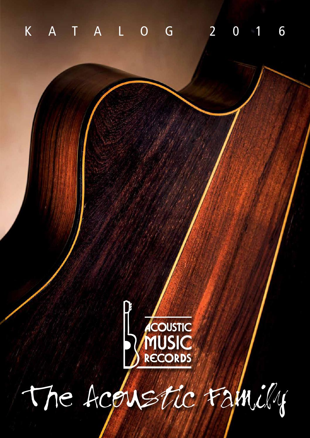 Acoustic Music Katalog 2016 By Gmbh Co Kg Issuu Tas Tangan Goldie Lux Leather