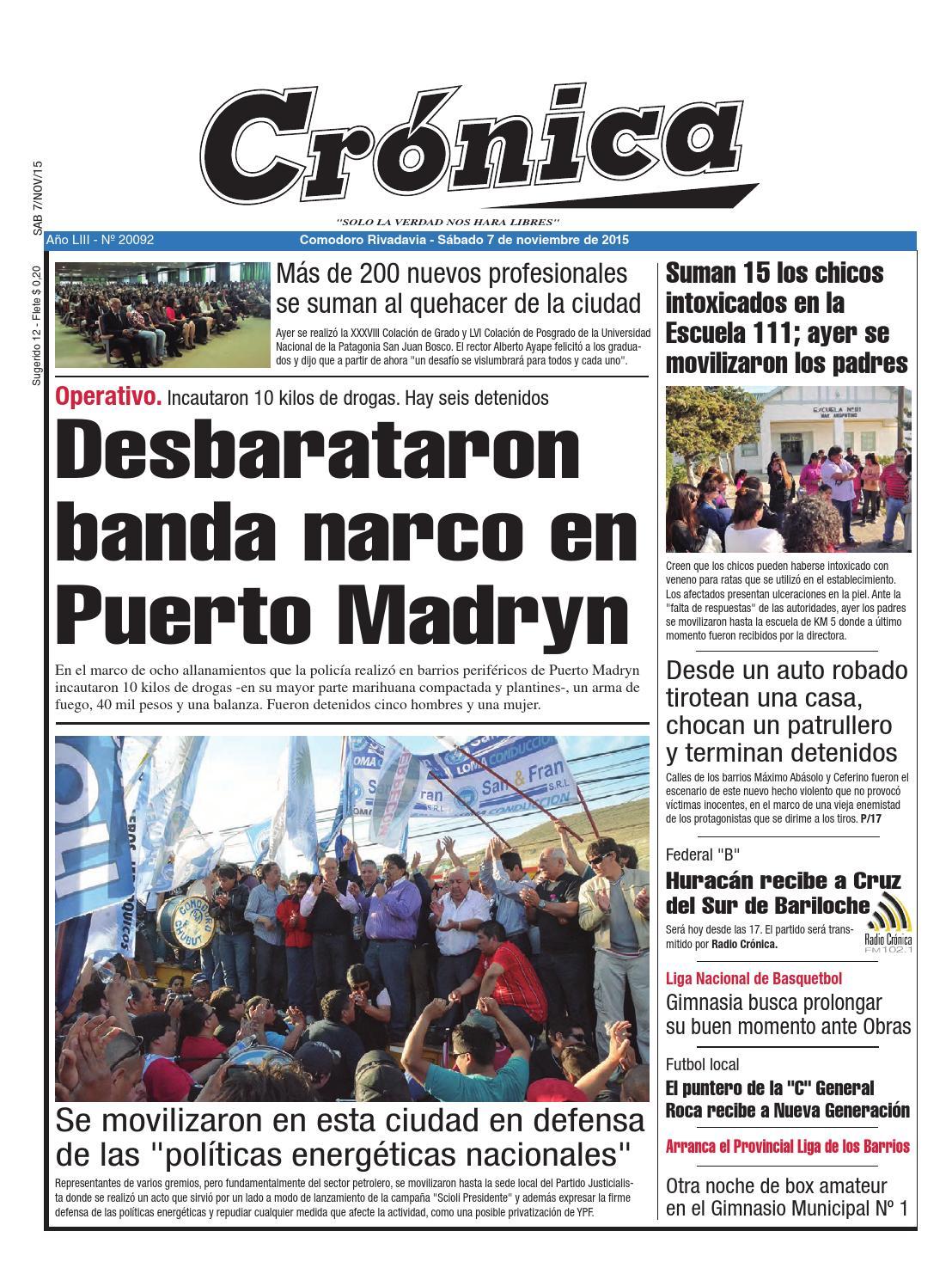 7e9d4c1b37822a7fae60e3bb7610ee56 by Diario Crónica - issuu