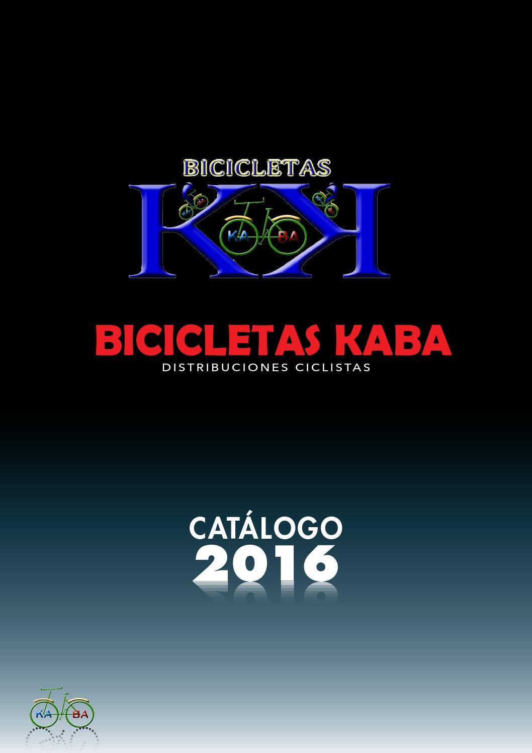 Catálogo bicicletas kaba 2016 by Bicicletas Kaba - issuu
