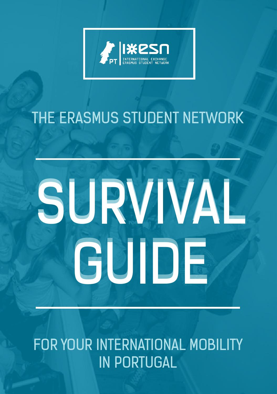 Survival Guide 2015 by ESN Portugal