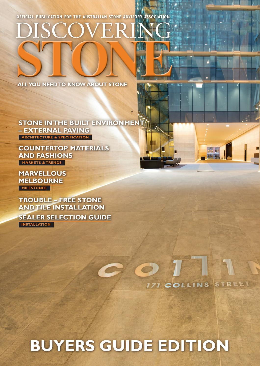 Discovering Stone Issue 27 2015 By Elite Publishing Co Pty Ltd Issuu