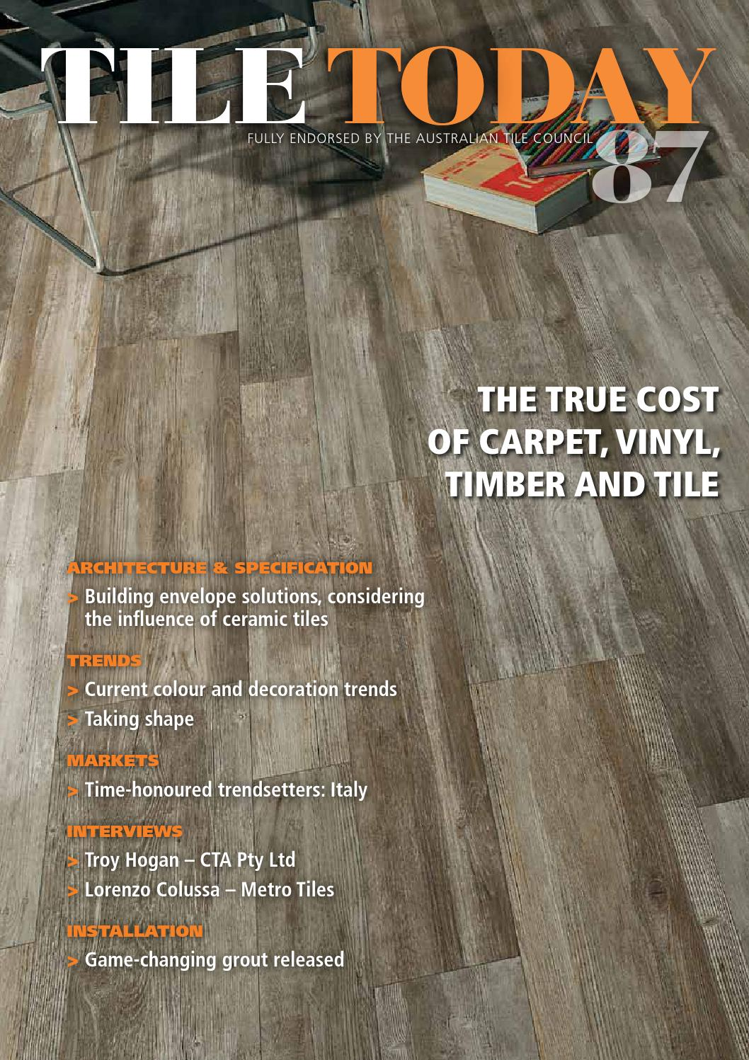 Tile today issue 87 2015 by elite publishing co pty ltd issuu dailygadgetfo Choice Image
