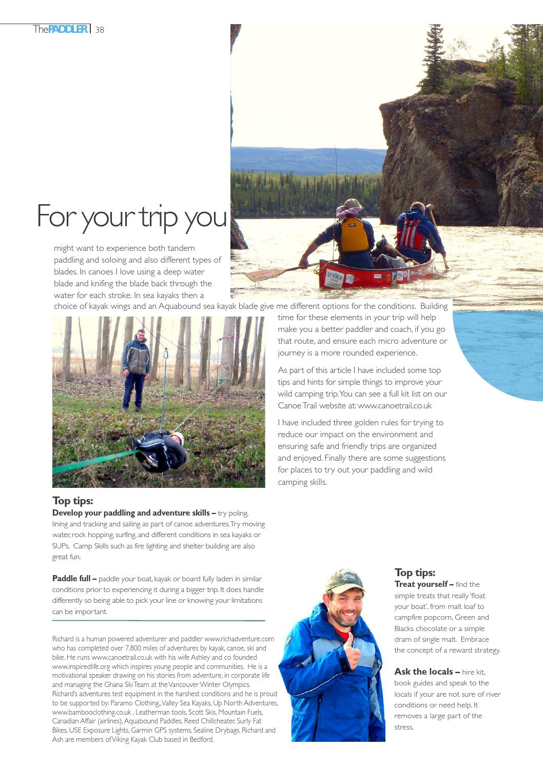 The Paddler Issue 26 Autumn/Fall 2015 Kayak cover by The