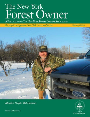 The New York Forest Owner - Volume 52 Number 2 by Jim Minor