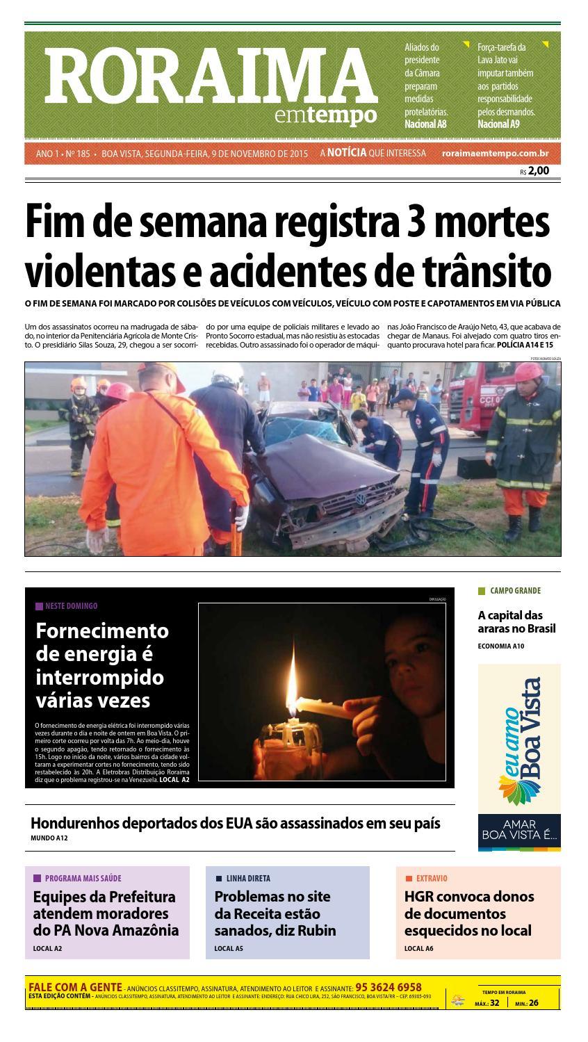 845e2d0ef7 Jornal roraima em tempo – edição 185 – período de visualização gratuito by  RoraimaEmTempo - issuu