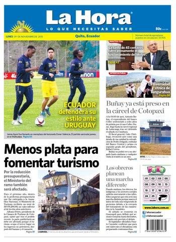 Quito 9 noviembre 2015 by Diario La Hora Ecuador - issuu 51143b8dd59