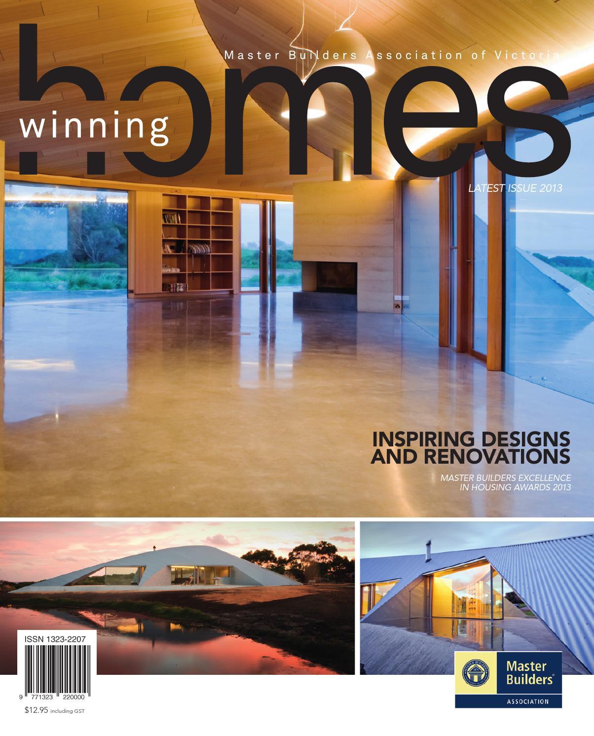 2015 Master Builders Victoria Winning Homes By Arkmedia