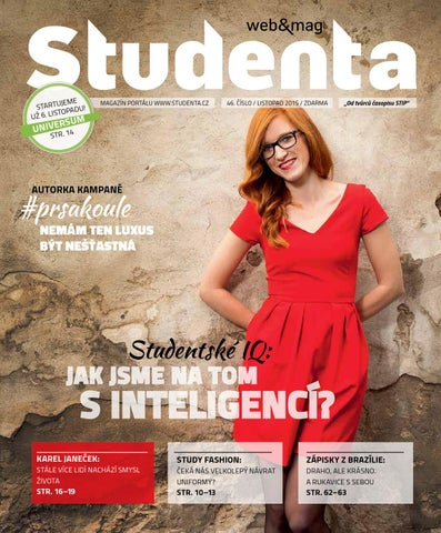 Studenta 46 Listopad 2015 by Studenta - issuu aa53e71269