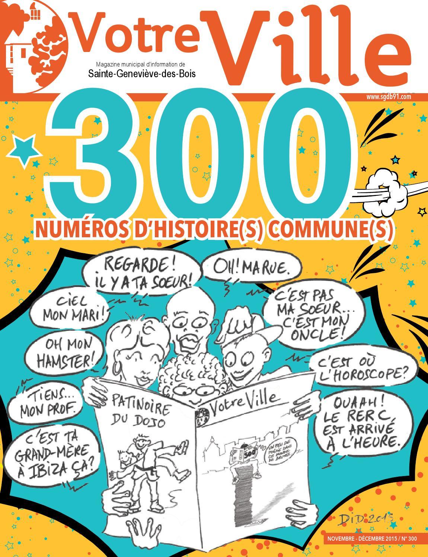 Votre ville n 300 by mairie issuu for Piscine sainte genevieve des bois
