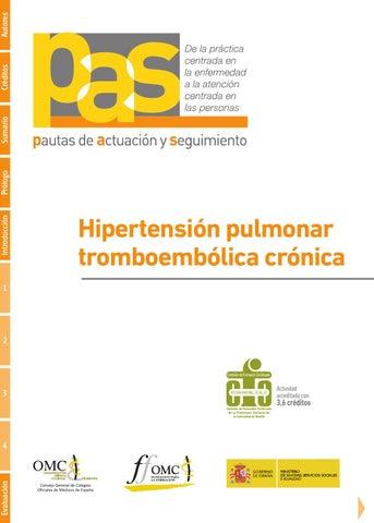 Vascularización hipertensión pulmonar