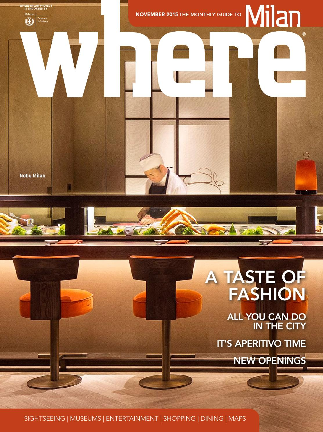 Where Milan n 61 November 2015 by Where Italia - issuu ac08d99dbd1