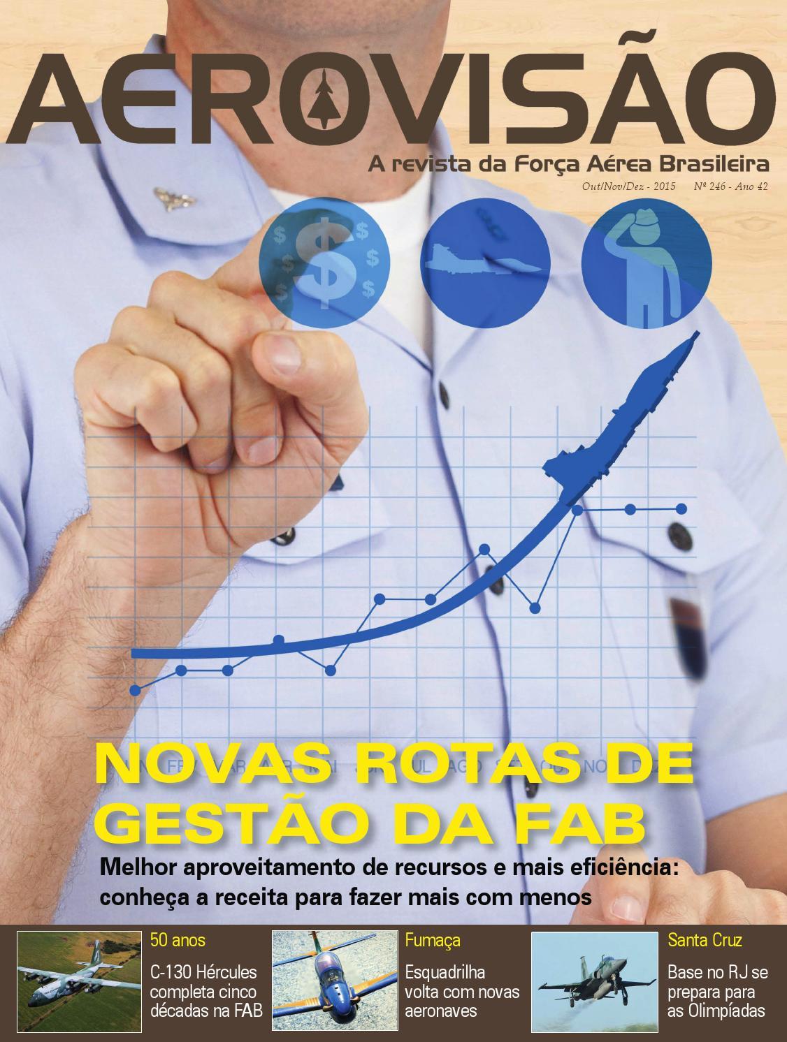 AEROVISÃO nº 246 Out Nov Dez 2015 by Força Aérea Brasileira - issuu 981c5cdf2b