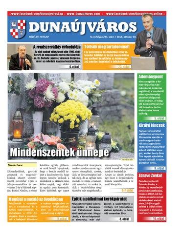 Dkh 2015 10 30 by Dunaújváros Közéleti Hetilapja - issuu 4776f93594