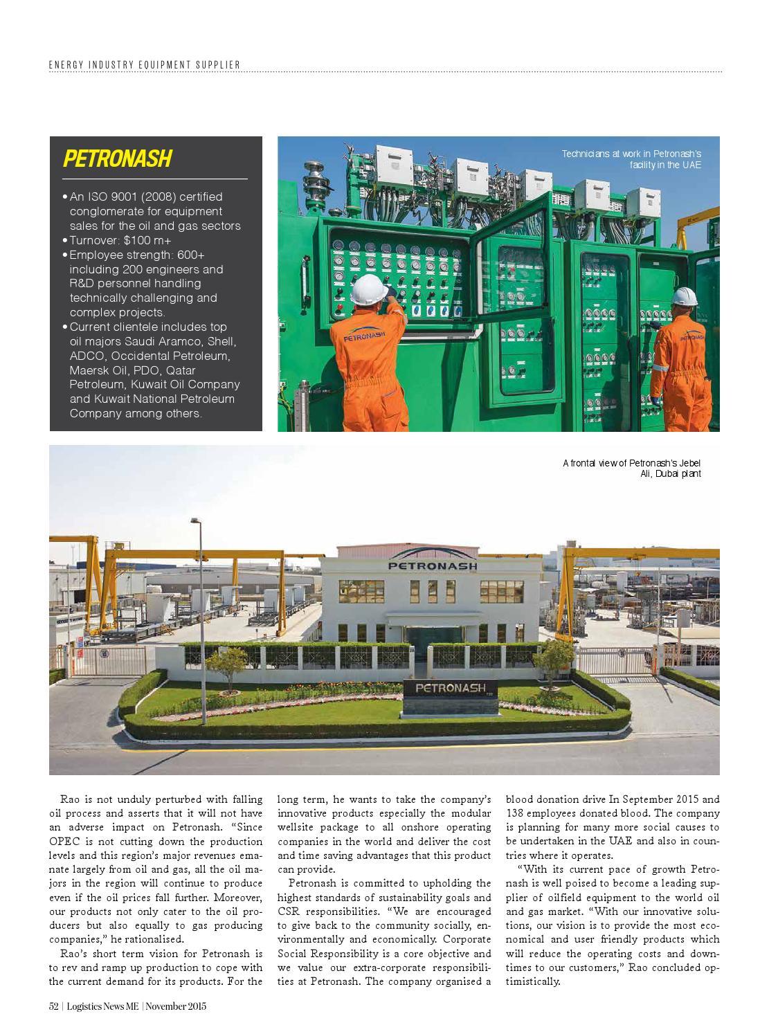 Logistics News ME November 2015 by BNC Publishing - issuu