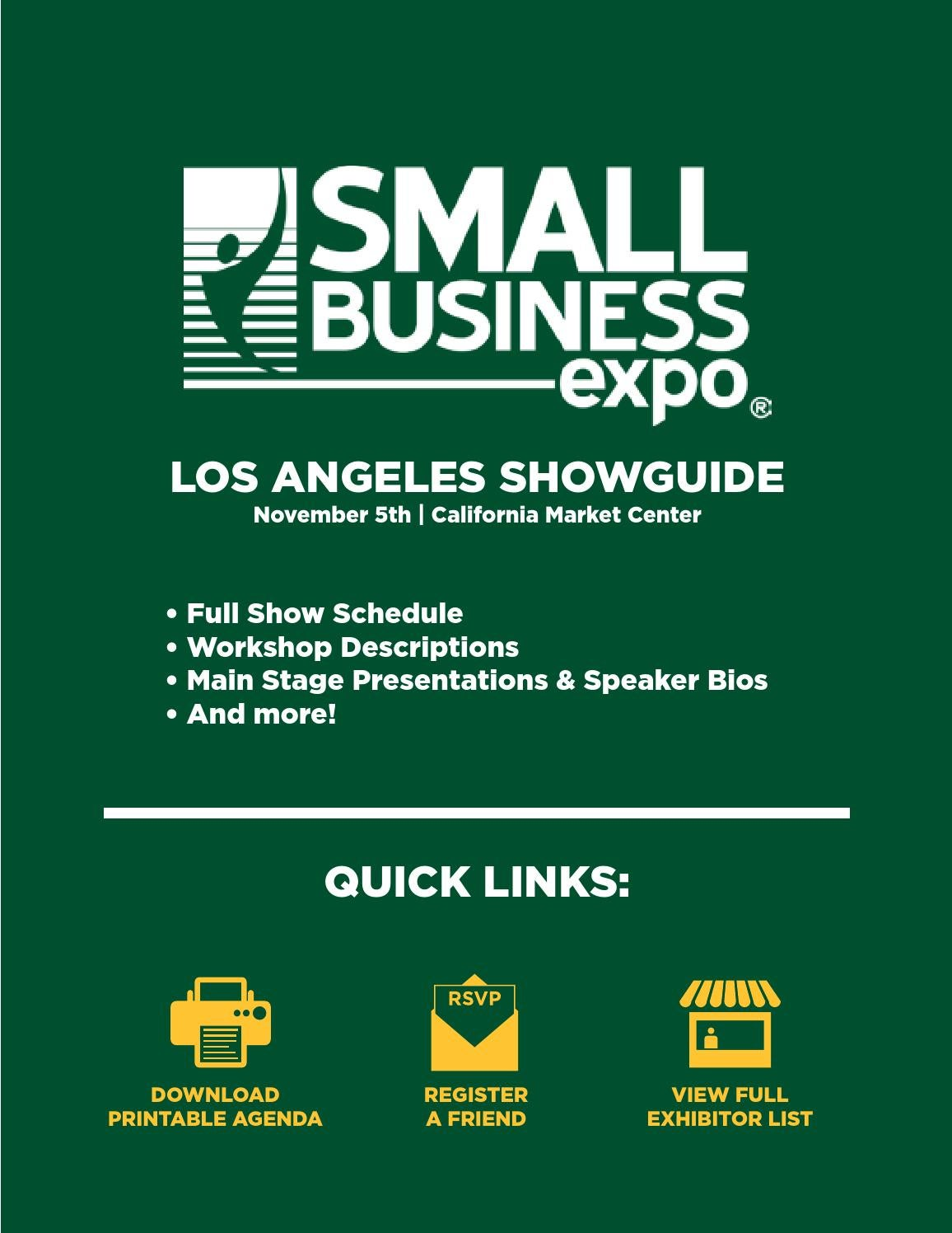 Los Angeles ShowGuide 2015 by Small Business Expo - issuu