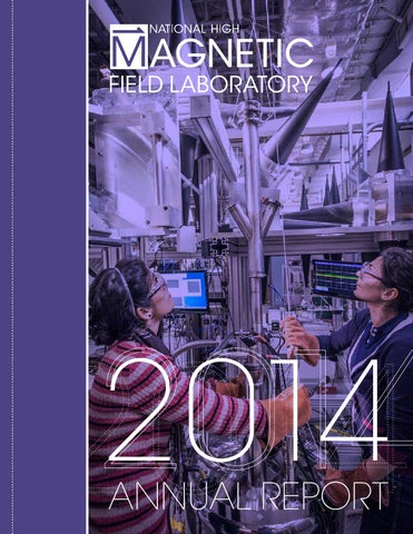 2014 Annual Report for the National High Magnetic Field