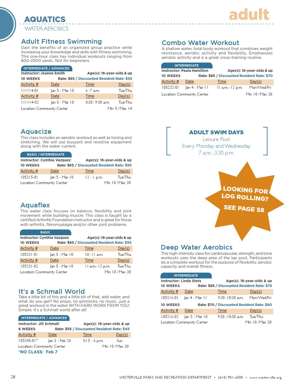 2015-2016 Winter Community Recreation Guide by City of