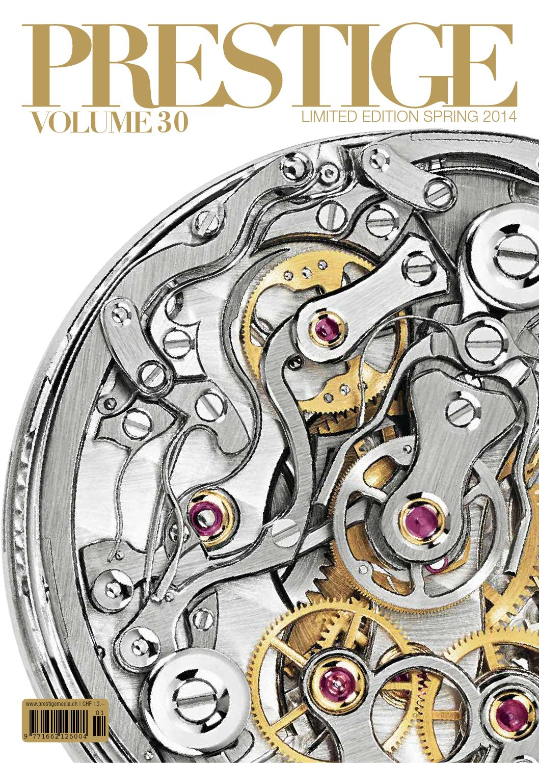 PRESTIGE Switzerland Volume 30 by rundschauMEDIEN AG - issuu