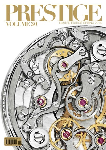 Prestige Switzerland Volume 30 By Rundschaumedien Ag Issuu