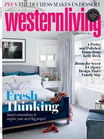 Western Living - BC, April2015