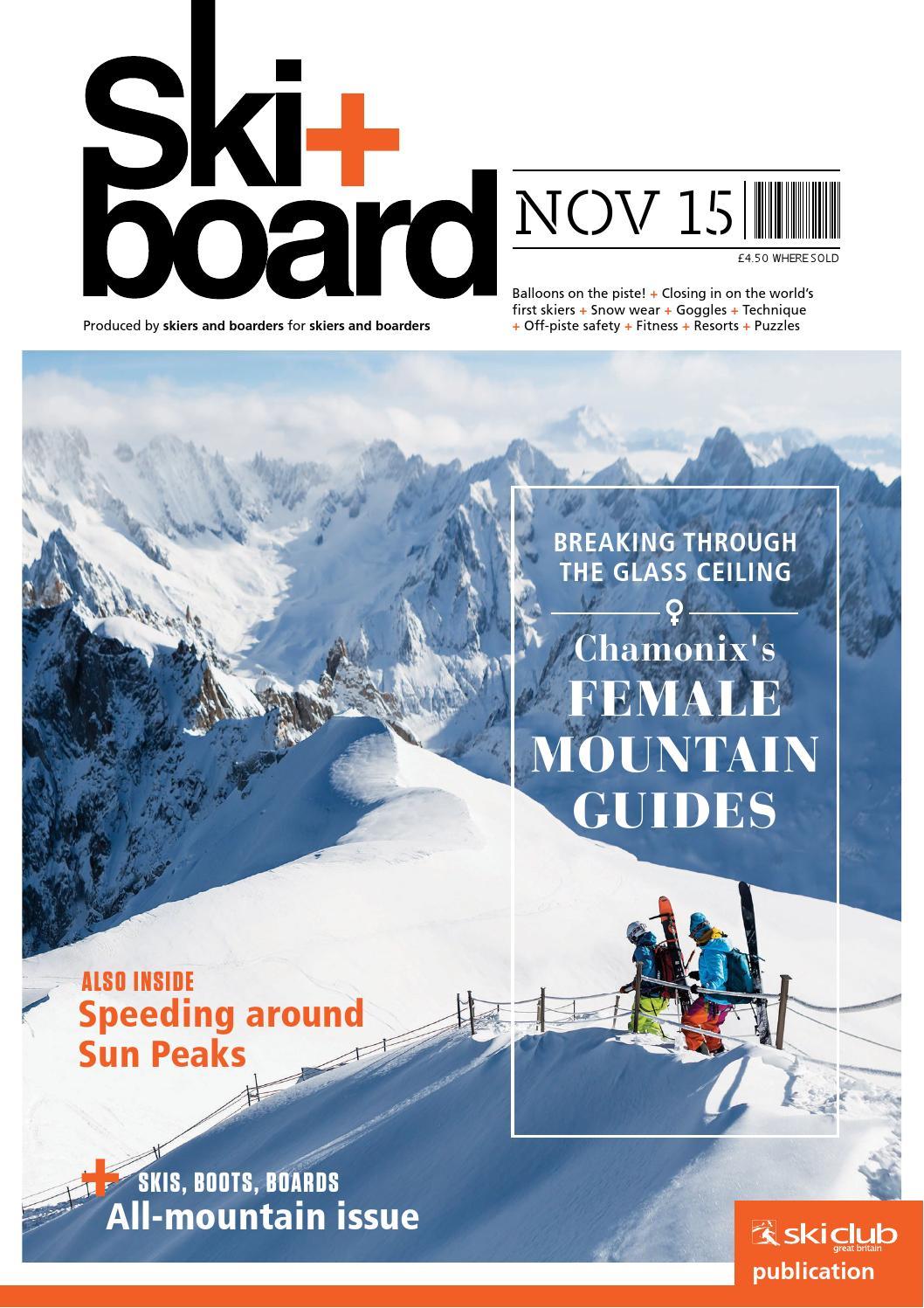 Ski+board November 2015