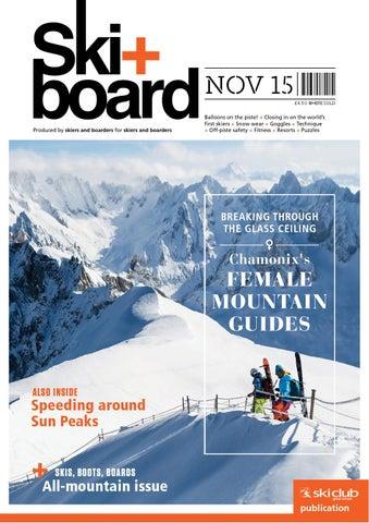 0b20497784f63 Ski+board November 2015 by Ski Club of Great Britain - issuu