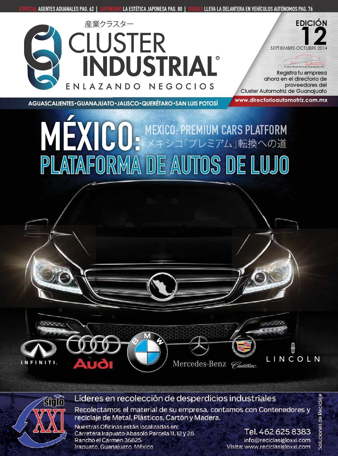 Edici N 08 Enero Febrero 2014 By Cluster Industrial Issuu # Tutto Muebles Qro
