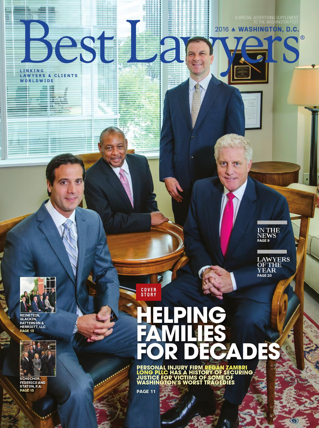 Best Lawyers in Washington, D.C. 2016 by Best Lawyers - issuu